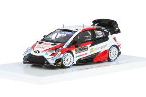 1-43 Toyota Yaris WRC Ogier Ingrassia Rallye Monte Carlo 2020