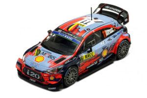 1:43 Hyundai i20 Coupe WRC | Neuville - Gilsoul | RallyRACC Catalunya - Costa Daurada 2019