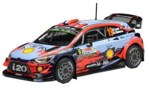1:43 Hyundai i20 Coupé WRC | Loeb - Elena | Rally Chili