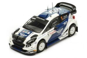 1:43 Ford Fiesta WRC | Bottas - Rautiainen | Arctic Lapland Rally 2019