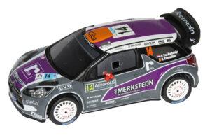 1:43 Citroën DS3 WRC | Van Merksteijn Jr. - Chevaillier | Acropolis Rally