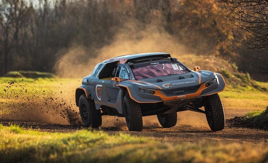 Abbring met elektrische Rally Raid auto naar Dakar 2021