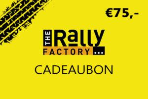 The Rally Factory 75 euro cadeaubon