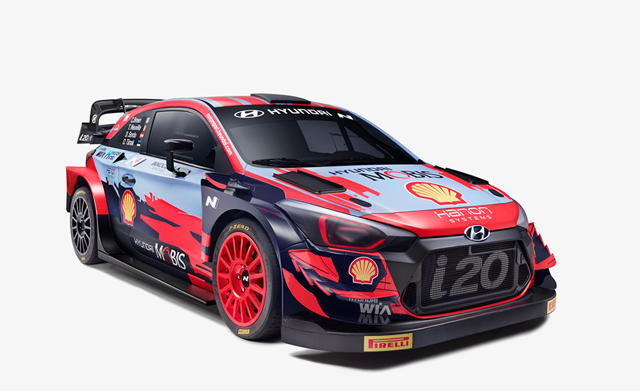 Hyundai WRC onthult livery voor 2021 i20 Coupe World Rally Car