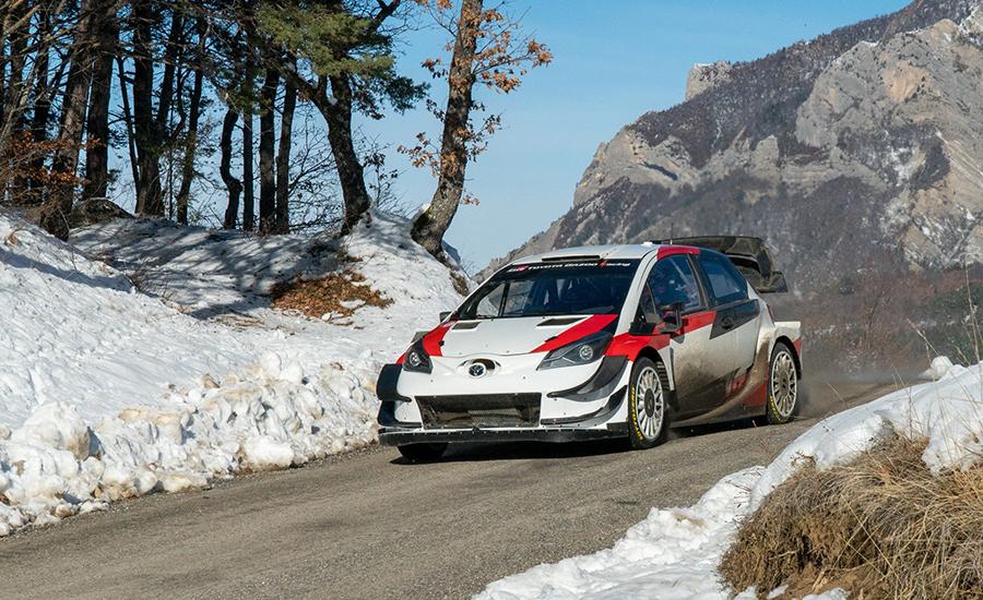 Ogier crasht tijdens Monte Carlo test