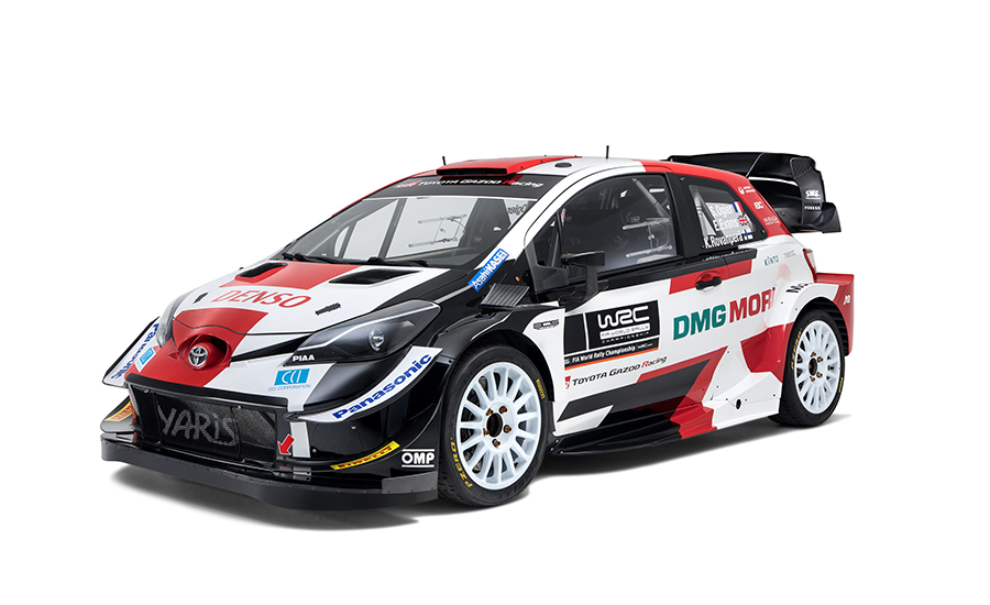 Toyota presenteert nieuwe livery Yaris WRC 2021