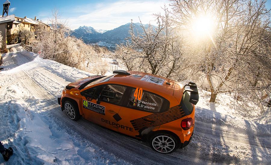 Abbring 20e in Rallye Monte Carlo