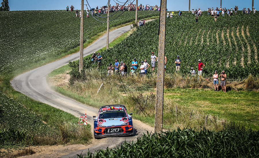 Ypres Rally in WRC 2021 als vervanging van Rally Noord Ierland