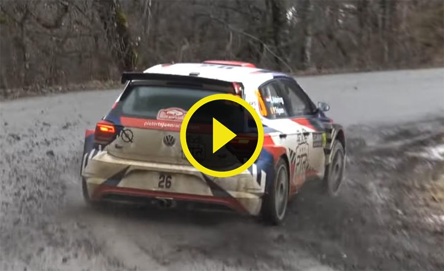 Rallye Monte Carlo Dag 1 video