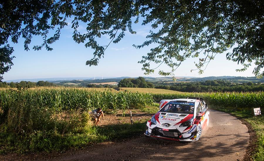 Rallye Deutschland vertrekt uit Saarland